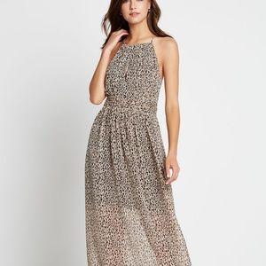 BCBG leopard print maxi dress